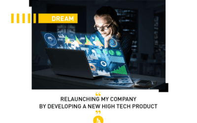 Dream: relaunching my company by developing a new product