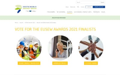 Apply to the European Sustainable Energy Week 2021 Awards!