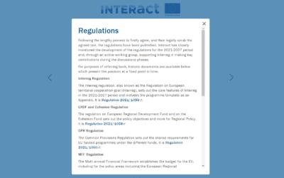 The 2021-2027 Regulations for Interreg programmes have been published
