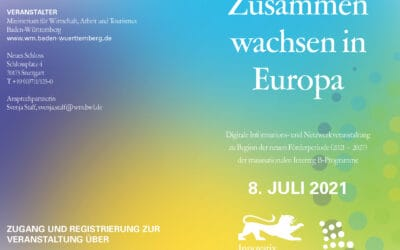 Growing together in Europe – Zusammenwachsen in Europa